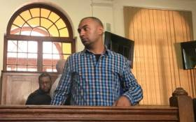 FILE: Nafiz Modack in court on 17 January 2018. Picture: Kevin Brandt/Eyewitness News.