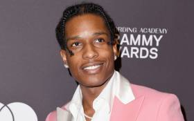 FILE: US rapper ASAP Rocky. Picture: AFP