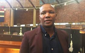 FILE: Kenneth Nkosana Makate at the Constitutional Court, where he won his case against Vodacom over the 'Please Call Me' service. Picture: Mia Lindeque/EWN