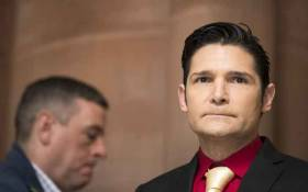 FILE: Corey Feldman arrives for a press conference in support of the Child Victims Act on 14 March 2018 at the New York State Capitol in Albany, New York. Picture: AFP