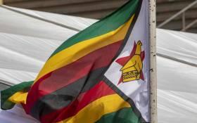 Zimbabwean flag. Picture: Thomas Holder/EWN