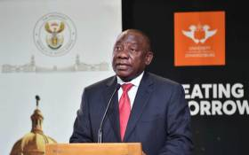 President Cyril Ramaphosa at a conference at the University of Johannesburg where business, academia and civil society reflected on the past and the next 25 years of democracy. Picture: GCIS.
