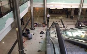 The scene of a shooting at the Bedford Centre in Bedforview on 29 January 2015. Picture: Byron Moonsamy