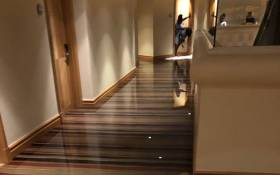 Flooded room at Sun City Resort after a hailstorm. Picture: Twitter @MichaelRamaboea.