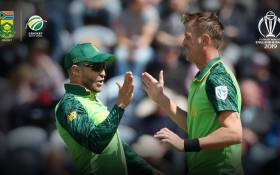 Proteas vs Afghanistan on 15 June 2019. Picture: @OfficialCSA/Twitter.