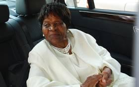 FILE: Mama Albertina Sisulu on her 92nd birthday. Picture: EWN.