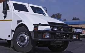 FILE: SBV Services cash-in-transit van. Picture: SBV