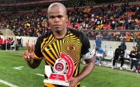 Kaizer Chiefs' Willard Katsande was the Man of the Match in the Absa Premiership game against Chippa United on 6 November 2019. Picture: @KaizerChiefs/Twitter