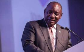 President Cyril Ramaphosa at the IEC 's National Results Operation Centre during the election results announcement on 11 May 2019. Picture: Abigail Javier/EWN
