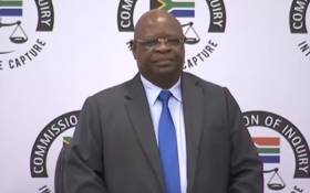 FILE: A screengrab of Deputy Chief justice Raymond Zondo at the state capture commission of inquiry. Picture: YouTube.