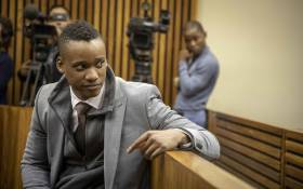Culpable homicide accused Duduzane Zuma in the dock at the Randburg Magistrates Court on 16 May 2019. Picture: Thomas Holder/EWN