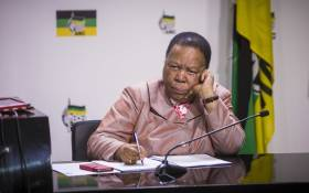 FILE: Minister of Higher Education Naledi Pandor pictured on 10 July 2017 during an ANC meeting. Picture: Thomas Holder/EWN