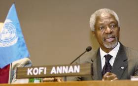 Former UN chief Kofi Annan. Picture: United Nations Photo.