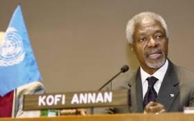 Former UN chief Kofi Annan. Picture: United Nations Photo.