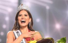 Miss Mexico Andrea Meza was crowned Miss Universe on 16 May 2021. Picture: @MissUniverse/Twitter.
