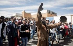 FILE: Alexandra residents march to the City of Johannesburg local municipal offices on 8 April 2019. Picture: Sethembiso Zulu/EWN.