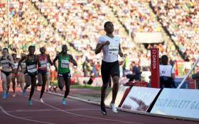 FILE: Caster Semenya wins the women's 800m event at the Oslo Diamon League meeting on 7 June 2018. Picture: @Diamond_League/Twitter
