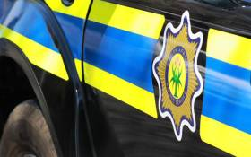 FILE: A police van. Picture: SAPS.