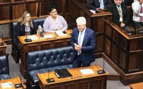 Western Cape Premier Alan Winde in the Western Cape legislature on 22 May 2019. Picture: @WesternCapeGov/Twitter