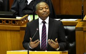 Deputy President David Mabuza answers questions in Parliament. Picture: GCIS
