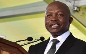 David Mabuza. Picture: GCIS.