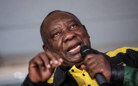 FILE: ANC president Cyril Ramaphosa. Picture: Abigail Javier/Eyewitness News