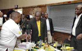 President Cyril Ramaphosa led the ANC into its 108th celebrations in the Northern Cape on 8 January 2020. Picture: @MYANC/Twitter