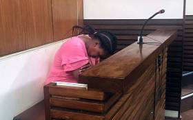 Zinhle Maditla, the Mpumalanga woman found guilty of murdering her four children, at the High Court in Middelburg on 17 September 2019. Picture: Bonga Dlulane/EWN