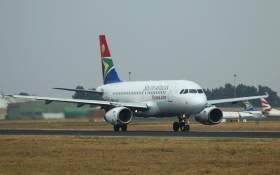 SAA plane at O.R. Tambo International Airport. Image: 123rf