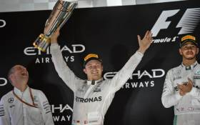 FILE: Mercedes AMG Petronas F1 Team's German driver Nico Rosberg celebrates at the end of the Abu Dhabi Formula One Grand Prix at the Yas Marina circuit on 27 November 2016. Picture: AFP.