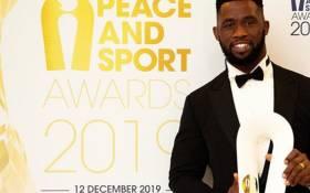 Springbok captain Siya Kolisi on 12 December 2019. Picture: @peaceandsport/Twitter