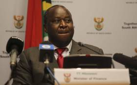 Finance Minister Tito Mboweni briefs the media ahead of the Medium Term Budget Policy Statement. Picture: Cindy Archillies/EWN