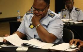 FILE: Former Gauteng Police Commissioner Major-General Deliwe de Lange. Picture: @GPLegislature/Twitter