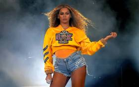 Beyonce Knowles performs onstage during 2018 Coachella Valley Music And Arts Festival Weekend 1 at the Empire Polo Field on 14 April 2018 in Indio, California. Picture: AFP