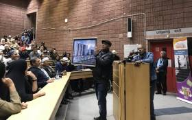 District Six residents at the Cape Peninsula University of Technology on 14 April 2019. Picture: Kaylynn Palm/EWN
