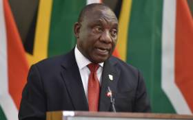 FILE: President Cyril Ramaphosa addressing the occasion of the presentation of credentials by Heads of Mission accredited to SA in Pretoria on 28 January 2020. Picture: @PresidencyZA/Twitter