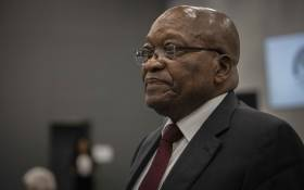 Former President Jacob Zuma at the state capture commission on 17 July 2019. Picture: Abigail Javier/EWN