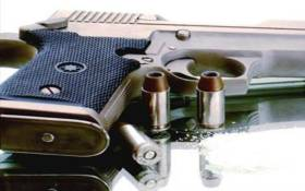 The alleged hijackers were killed when the man they tried to hijack opened fire on them.
