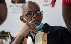 ANC secretary-general Ace Magashule on the Day of Reconciliation 2020 attended the 'Young Boys' Dialogue' in his hometown of Parys, Free State, that focused on gender-based violence. Picture: Boikhutso Ntsoko/EWN.