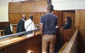 A 17-year-old pupil who was sentenced to 12 years imprisonment before the Kathu High Court for fatally stabbing a teacher. Picture: SAPS