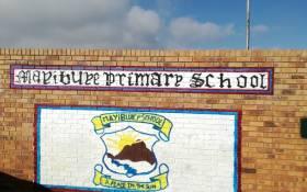 FILE: Mayibuye Primary School in Tembisa, Ekurhuleni. Picture: @HermanMashaba/Twitter.