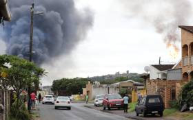 The South Durban Community Environmental Alliance demanded that the refinery be shut down. Picture: Riosha Kuar