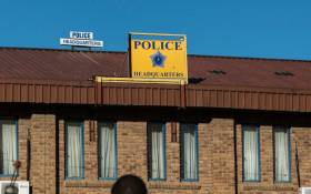 FILE: Maseru's police headquarters. Picture: AFP