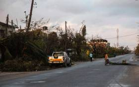 The streets of Beira in Mozambique after Cyclone Idai ripped through the city.  Picture: Christa Eybers/EWN.