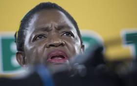 ANCWL President Bathabile Dlamini at the ANC's 54th national conference at Nasrec in Johannesburg on 19 December 2017. Picture: Sethembiso Zulu/EWN
