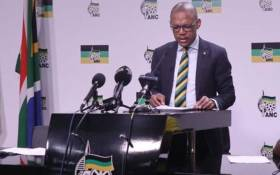 ANC national spokesperson Pule Mabe. Picture: @MYANC/Twitter