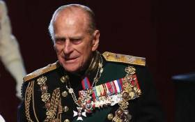 Prince Philip, Duke of Edinburgh, at the Palace of Westminster after the state opening of Parliament on 8 May 2013 in London. Picture: AFP