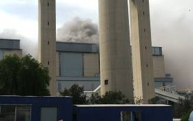 One person has been killed and another critically injured after an explosion at Eskom's Lethabo power station in the Vaal. Picture: @IM_KING_Dee/Twitter