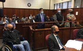 FILE: Former KwaZulu-Natal police commissioner Mmamonnye Ngobeni and her co-accused Thoshan Panday, Ashwin Narainpersad, and Navin Madhoe appeared in the Durban Commercial Crimes Court on 11 November 2020 on fraud and corruption charges linked to a R47 million police tender during the 2010 Fifa Soccer World Cup. Picture: Nkosikhona Duma/Eyewitness News
