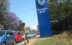 FILE: A Standard Bank branch in Johannesburg. Picture: EWN